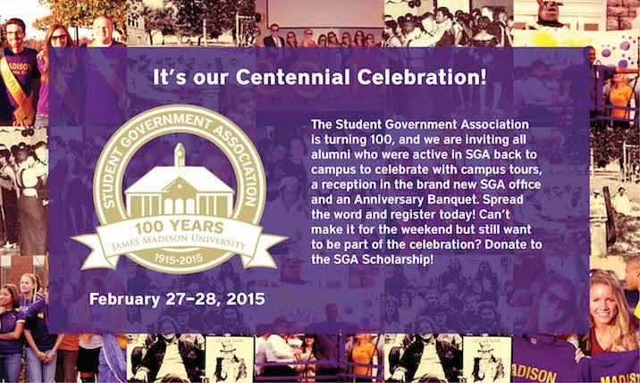 SGA Cenntenial Celebration