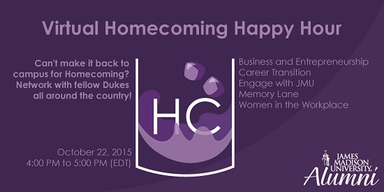 Homecoming Virtual Happy Hour